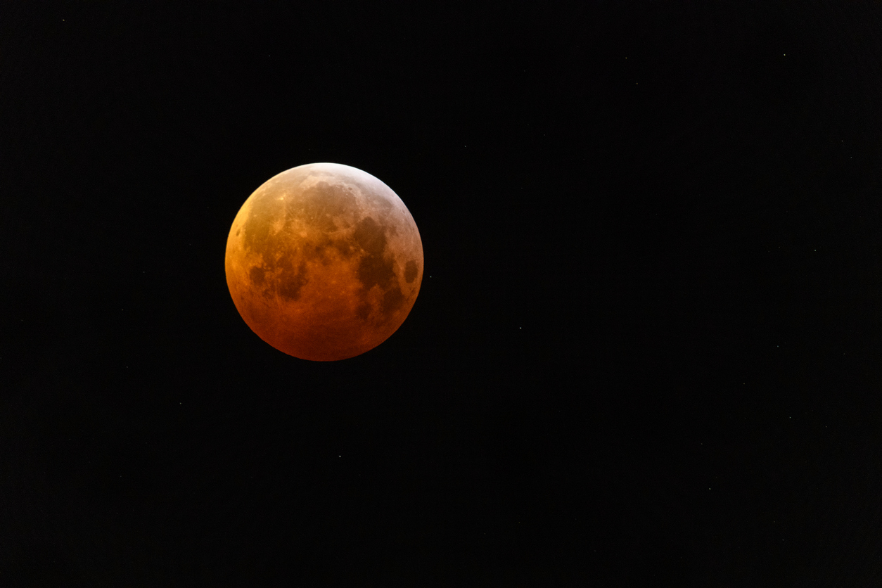 Super blood wolf moon lunar eclipse of January 2019